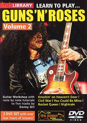 Lick Library: Learn To Play Guns And Roses Vol 2: 2 DVDs