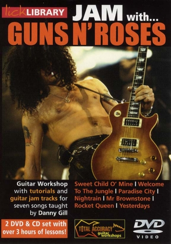 Lick Library: Jam With Guns And Roses Vol 2: 2 DVDs And Cd Set