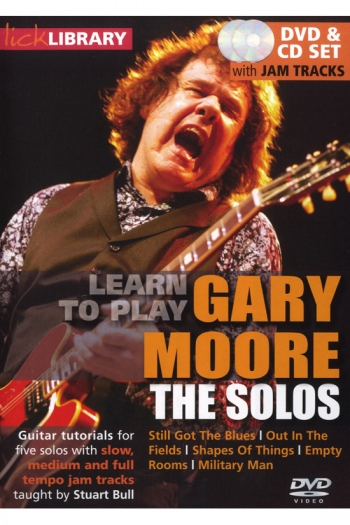 Lick Library: Learn To Play Gary Moore: The Solos: DVD And Cd Set