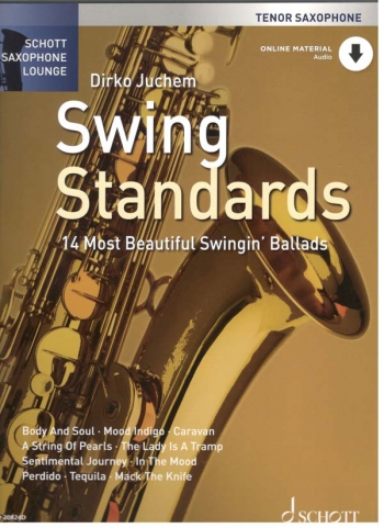 Schott Saxophone Lounge: Swing Standards: Tenor Sax