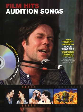 Audition Songs: Film Hits: For Male Singers: Book & Cd