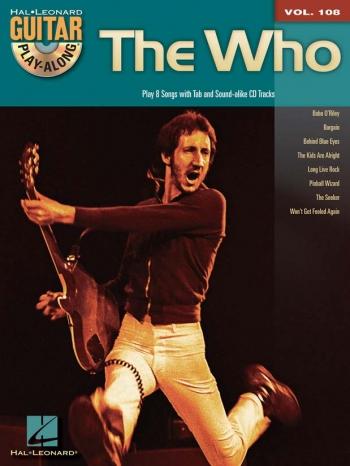 Guitar Play-Along Vol 108: The Who: Play 8 Songs: Guitar Tab