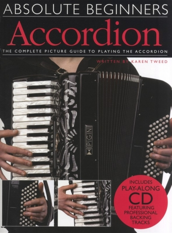 Absolute Beginners Accordion Tutor: Book & CD  (Collins)