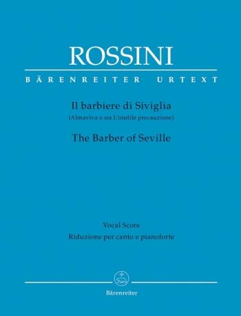 Overture To Barber Of Seville: Vocal Score Hardback