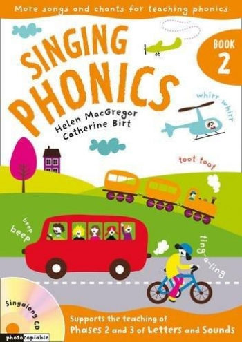 Singing Phonics Bk 2: Vocal: Music Edition Book & CD  (A & C Black)