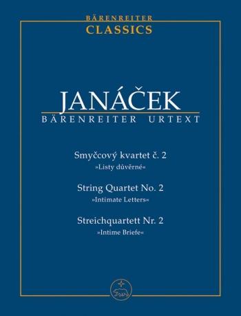 String Quartet No2:  Study Score (Barenreiter)