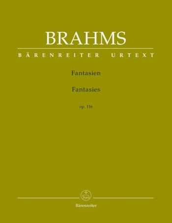 Fantasias Op.116: Piano (Barenreiter)