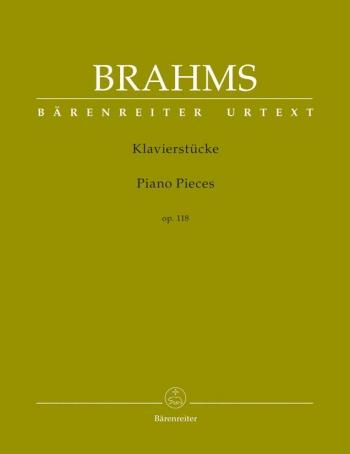 Piano Pieces Op.118: Piano: Piano (Barenreiter)