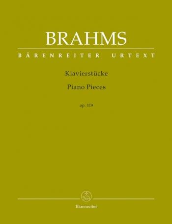 Piano Pieces: Op119: Piano (Barenreiter)
