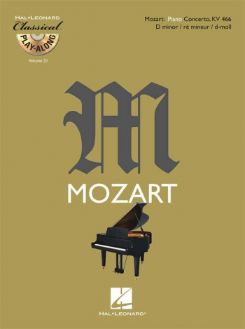 Classical Play-Along Vol 21: Mozart Concerto: D Minor: KV466: Piano (De Haske)