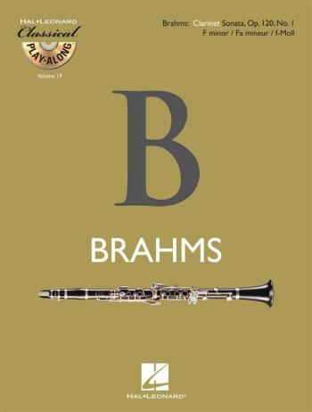 Classical Play-Along Vol 19: Brahms Clarrinet Sonata OP120 No 1: Clarinet Part And CD (De Haske)