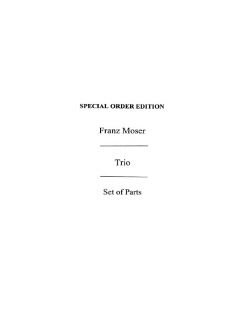 Trio: Op.38: Two Violins And Viola