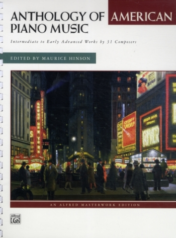 Anthology Of American Piano Music: Intermediate: Piano