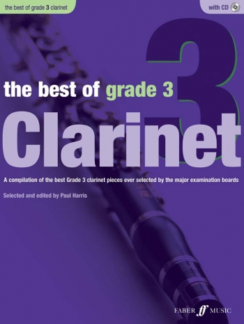 Best Of Clarinet Grade 3: Book & CD (Paul Harris)