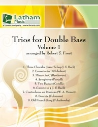 Trios For Double Bass: Double Bass: Sc&Pts