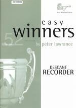 Easy Winners: Descant Recorder: Book & Cd (lawrance)