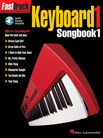 Fast Track: Keyboard: Songbook 1: Bk & Cd