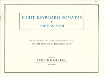 8 Keyboard Sonatas: Piano (Stainer & Bell)