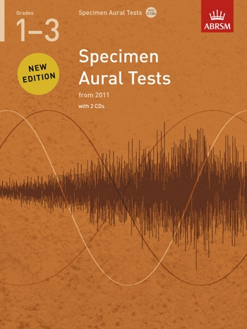 ABRSM Specimen Aural Tests Grade 1: Book & 2CDs