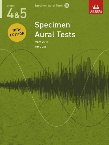 ABRSM Specimen Aural Tests Grade 4-5: Book & CD