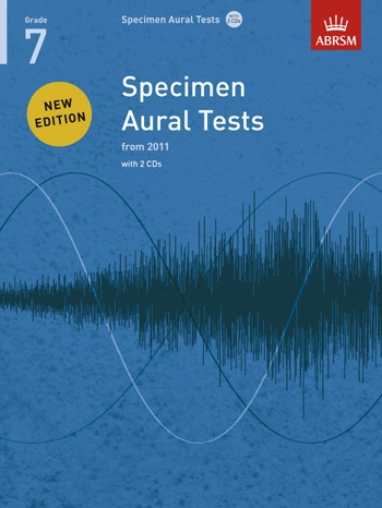 ABRSM Specimen Aural Tests Grade 7: Book & 2CDs