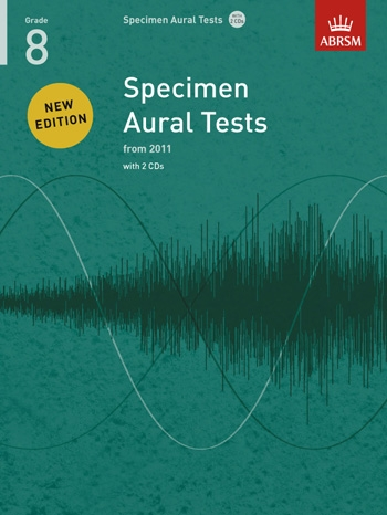 ABRSM Specimen Aural Tests Grade 8: Book & 2CDs