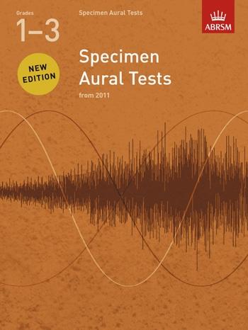 ABRSM Specimen Aural Tests Grade 1-3