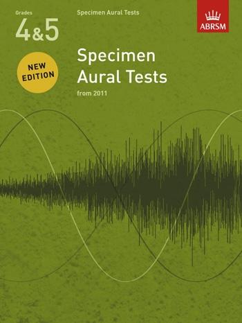ABRSM Specimen Aural Tests Grade 4-5