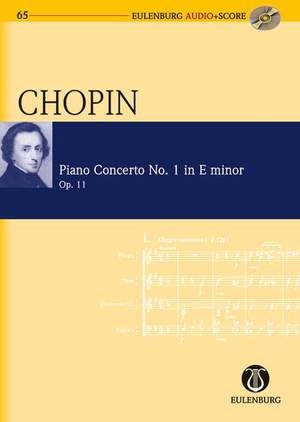 Concerto No.1 E Minor Op11: Piano: Miniature Score & Cd (Audio Series No 65) (Eulenburg)