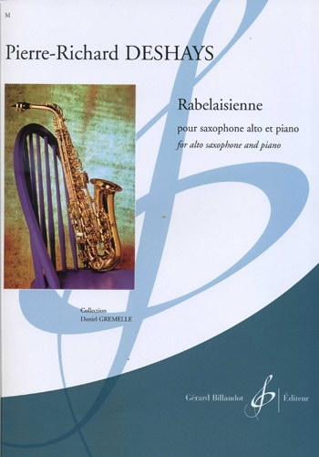 Rabelaisienne: Alto Sax And Piano