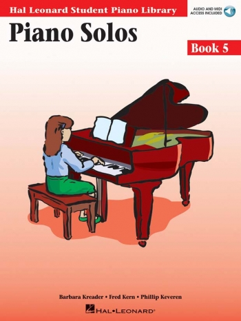Hal Leonard Student Piano Library: Book 5: Piano Solos: Book And Cd