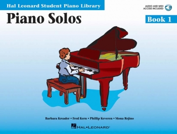 Hal Leonard Student Piano Library: Book 1: Piano Solos: Book And Cd