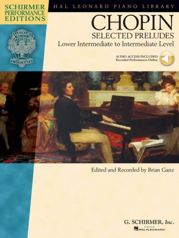 Selected Preludes: Piano: Book And Cd