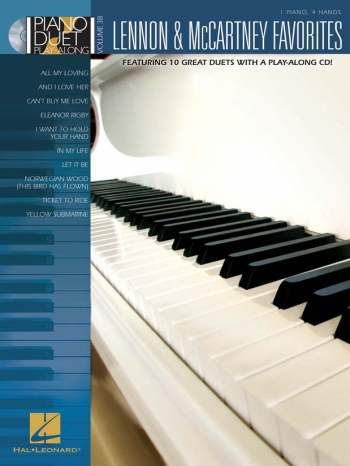Piano Duet Play-Along Volume 38:Lennon & McCartney: Book And Cd