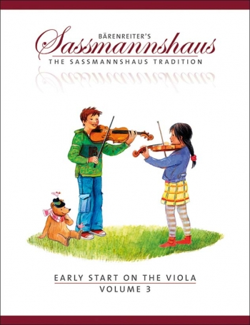 The Sassmannshaus Tradition. Early Start On The Viola, Volume 3
