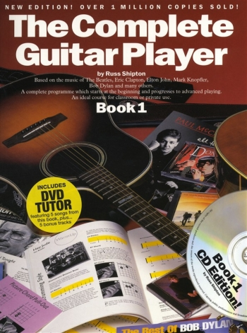 Complete Guitar Player: Book 1: Tutor: Book Cd & Dvd: New Edition
