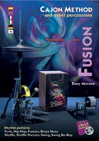 Cajon Method: Fusion: DVD And Book