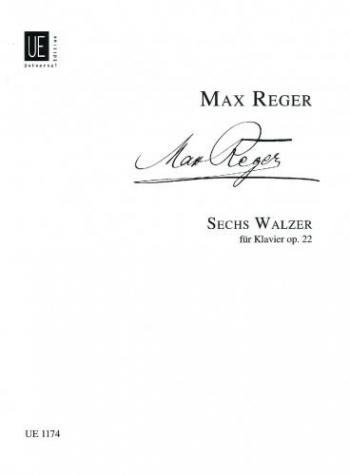 Six Waltze: Op.22: Piano