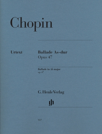 Ballade Ab Major Op.47: Piano (Henle)