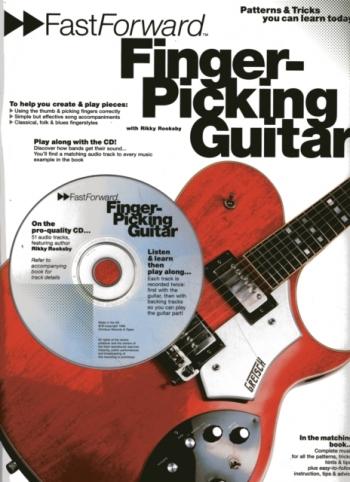 Fast Forward: Finger-Picking Guitar: Book & CD
