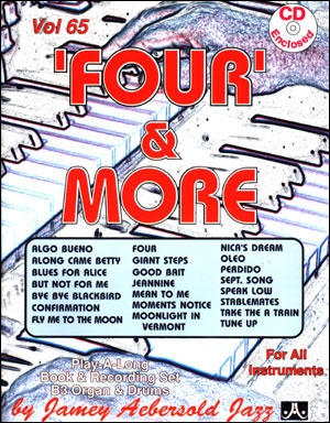 Aebersold Vol. 65: Four And More: Book & CD