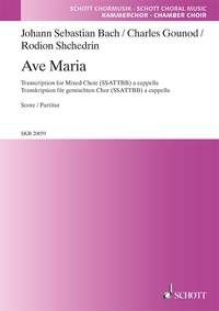 Ave Maria: Vocal: SATB A Capella