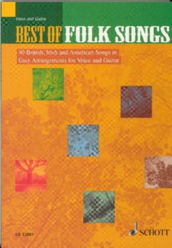 Best Of Folk Songs: Words Book