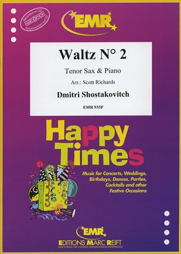 Waltz: No2: From 2nd Jazz Suite: Tenor Sax And Piano