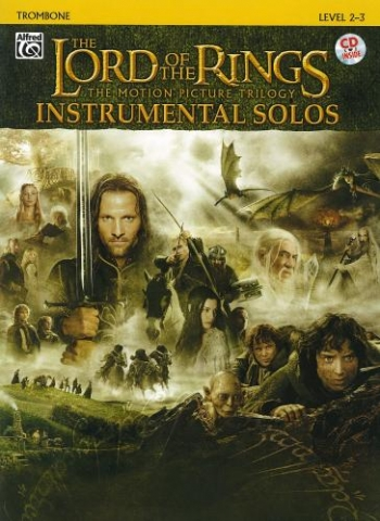 Lord Of The Rings: Trilogy:  Instrumental Solos: Trombone: Book & CD
