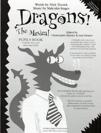 Dragons: Vocal: Cantata: Pupils Book: Upper Primary