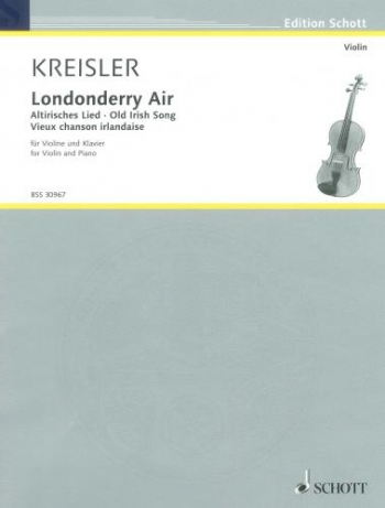Londonderry Air: Violin And Piano