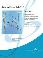 Berceuse: Piccolo And Piano (Beaumadier)