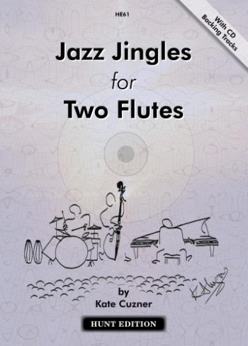 Jazz Jingles For Two Flutes: Flute Duet: Book And Cd