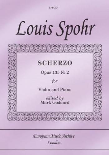 Scherzo: Op135: No2: Violin & Piano